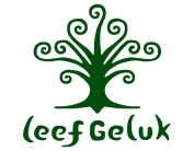 Leefgeluk-logo groen